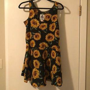 Sunflower Babydoll Dress